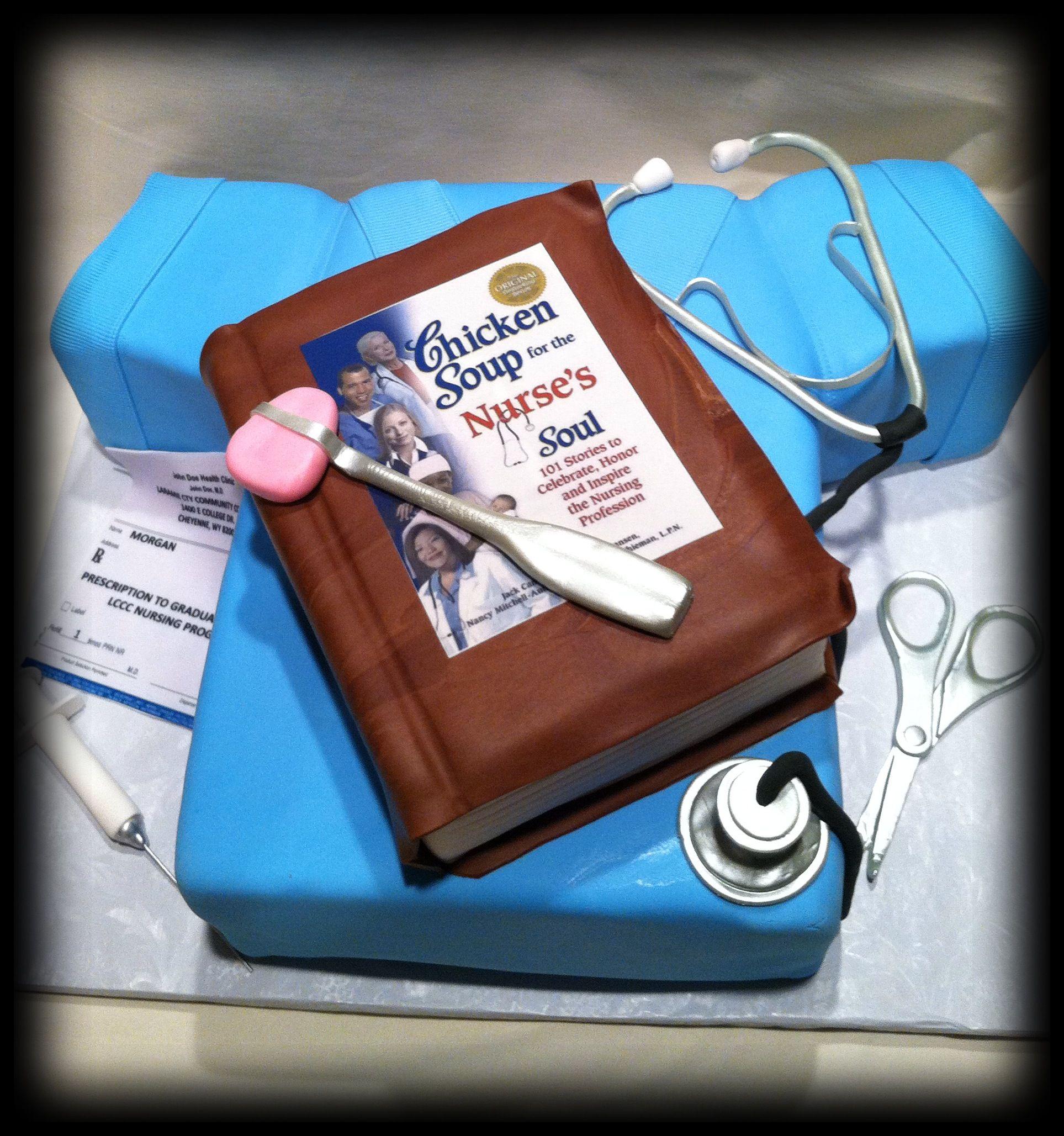 Nursing Cake For A Nursing Graduate