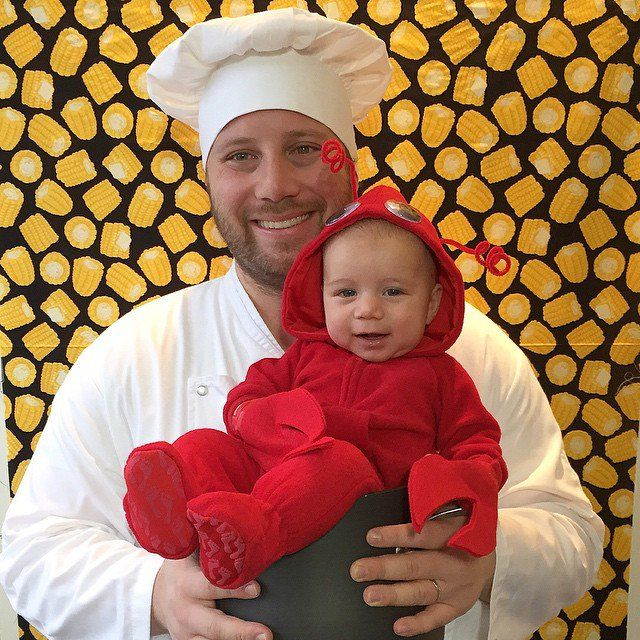 Pin for Later: A Mom's Photo Project Turns Into the Cutest Halloween Countdown Day 24 We can't cook up this lobster!