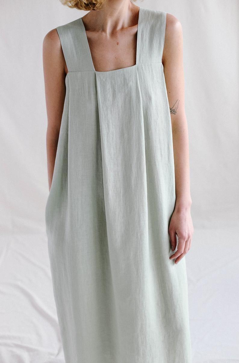 Pin On Mits L Linen Dresses [ 1208 x 794 Pixel ]