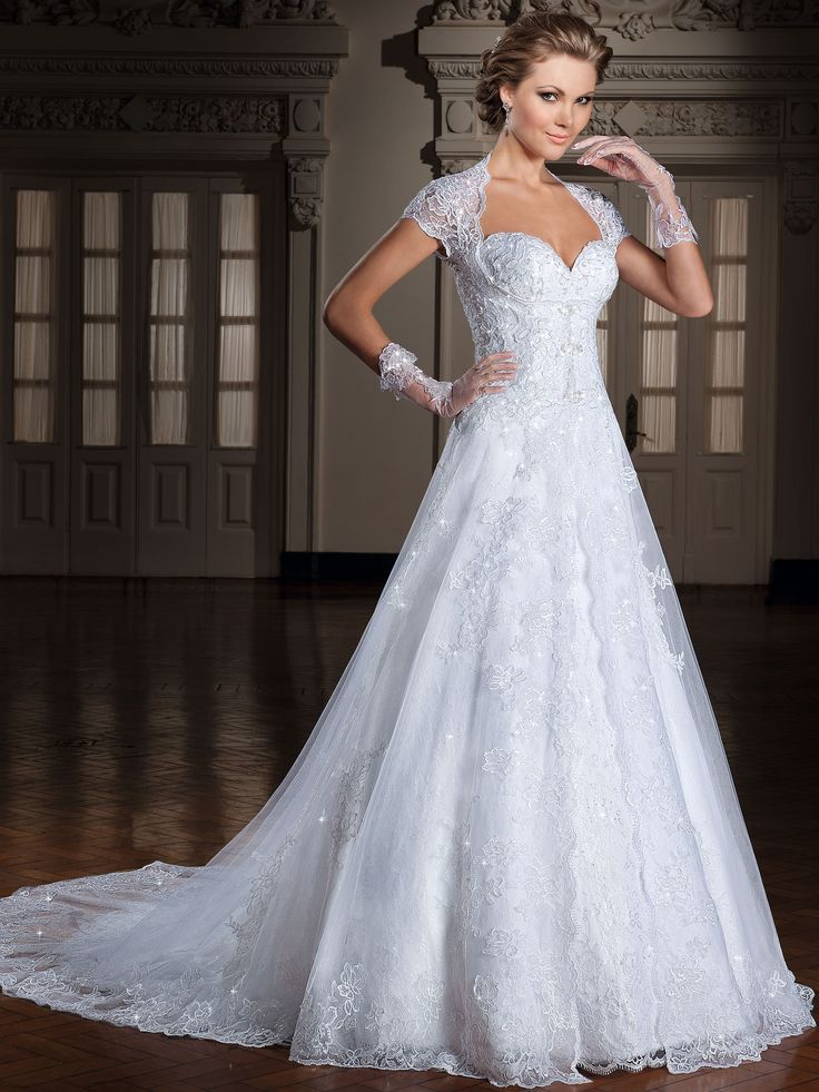 Fast Shipping A line Sweetheart White Wedding Dresses Turkey ...
