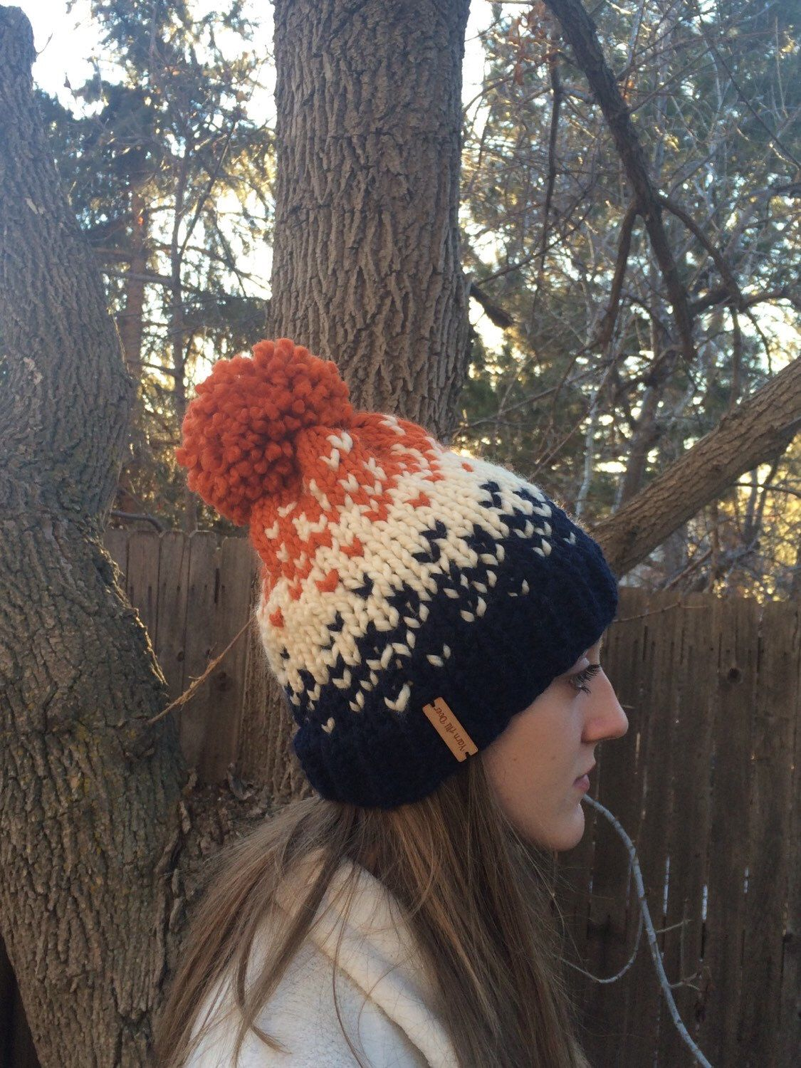 A personal favorite from my Etsy shop https://www.etsy.com/listing/265766139/chunky-fair-isle-hat-knit-ombre-fair