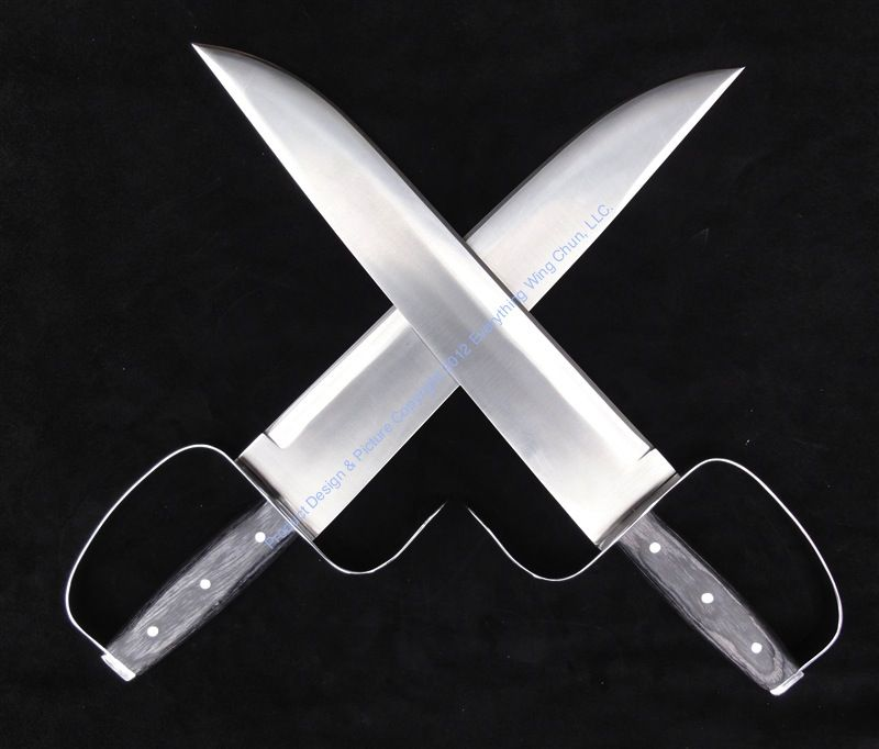 SOLD OUT!] Wing Chun Butterfly Swords: MOY YAT v1 - D2 - Sharp
