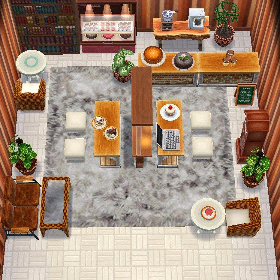 Animal crossing cabin (cafe)