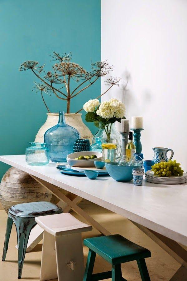 Decoracion De Interiores Gris Con Azul Turquesa Valoblogi Com
