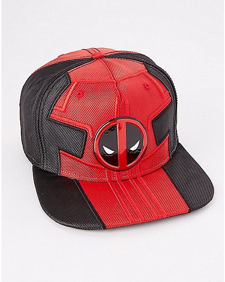 Ballistic Deadpool Snapback Hat - Marvel - Spencer s  97fea269592b