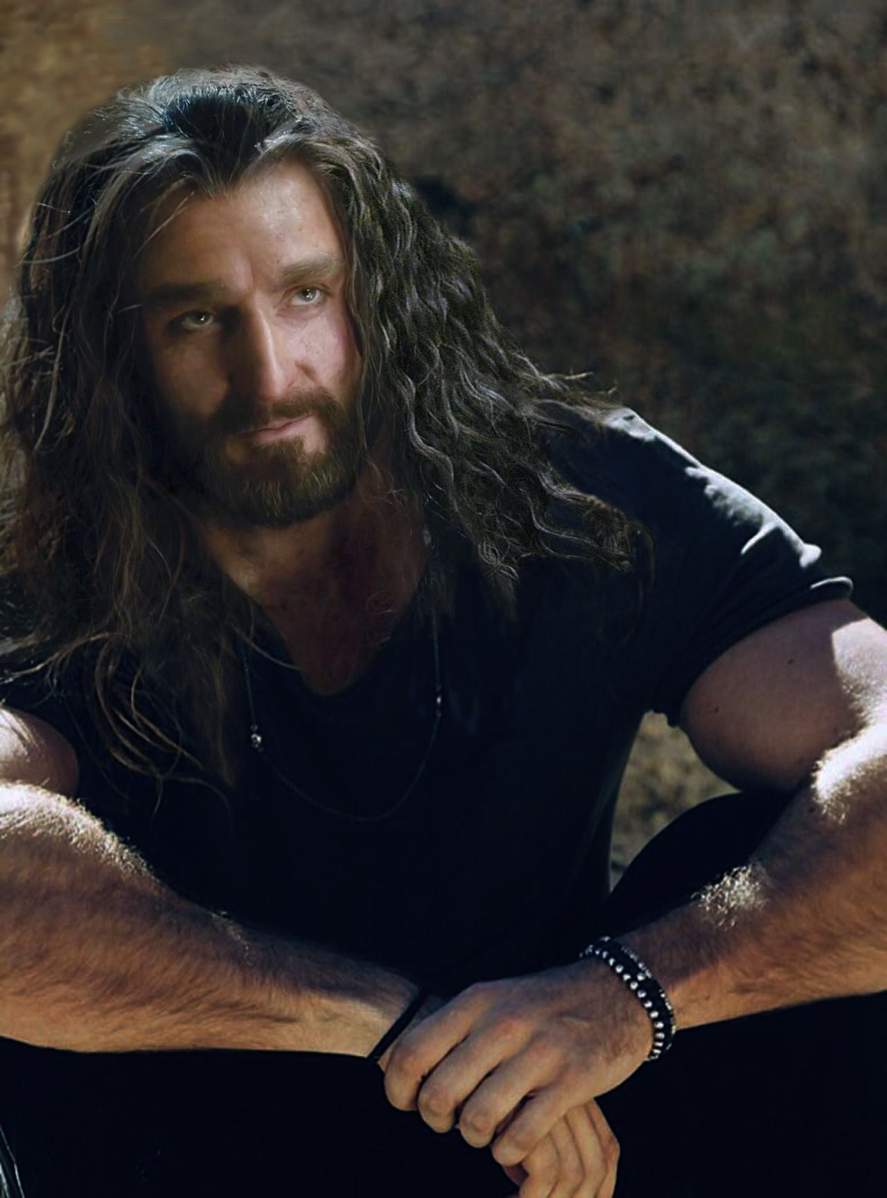 Modern-AU | Thorin edited and art pictures in 2019 | The