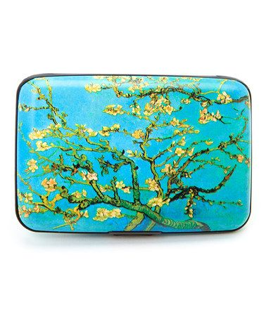 Love this Blue & Green Branches Armored Wallet by Fig Design Group on #zulily! #zulilyfinds