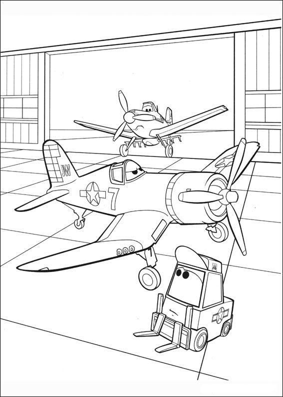 Planes Ausmalbilder. Malvorlagen Zeichnung druckbare nº 81 ...