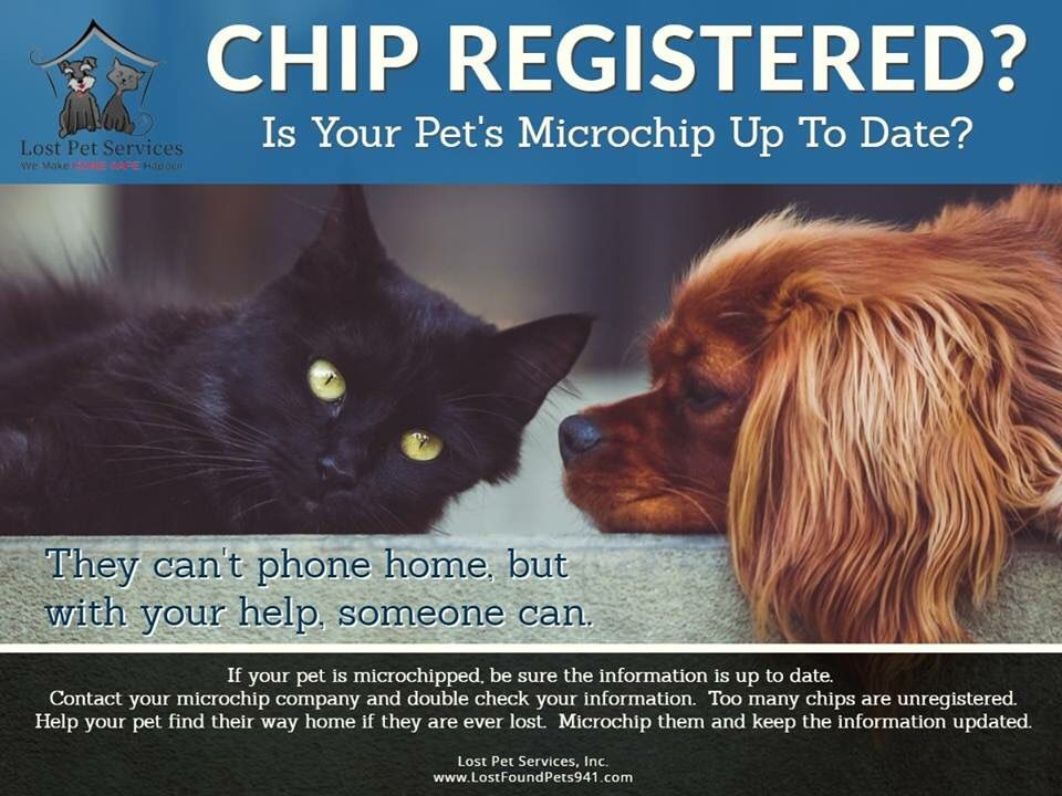 Via our friends at Lost Pet Services, Inc. Too often we