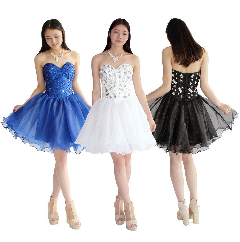 Faironly mini ball prom cocktail homecoming dresses stock size