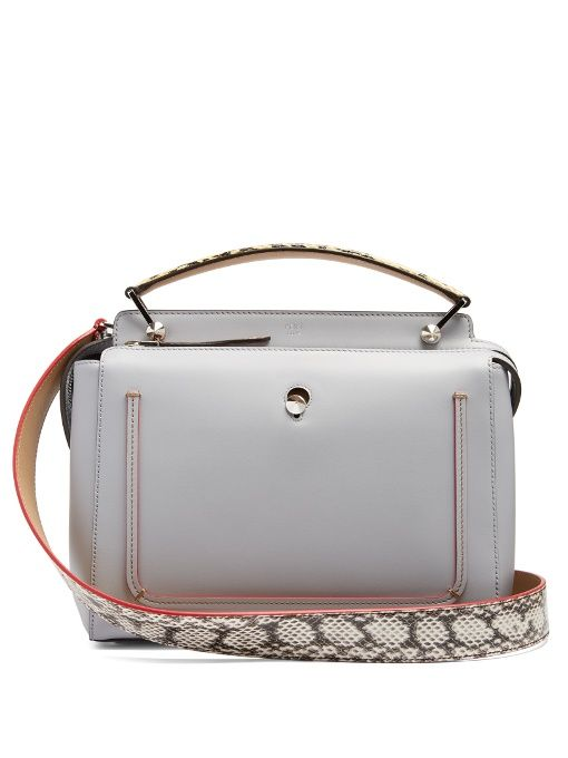 FENDI Dotcom Leather Bag.  fendi  bags  accessories  metallic  shoulder bags   suede  hand bags  pouch   be3c35defe8bf