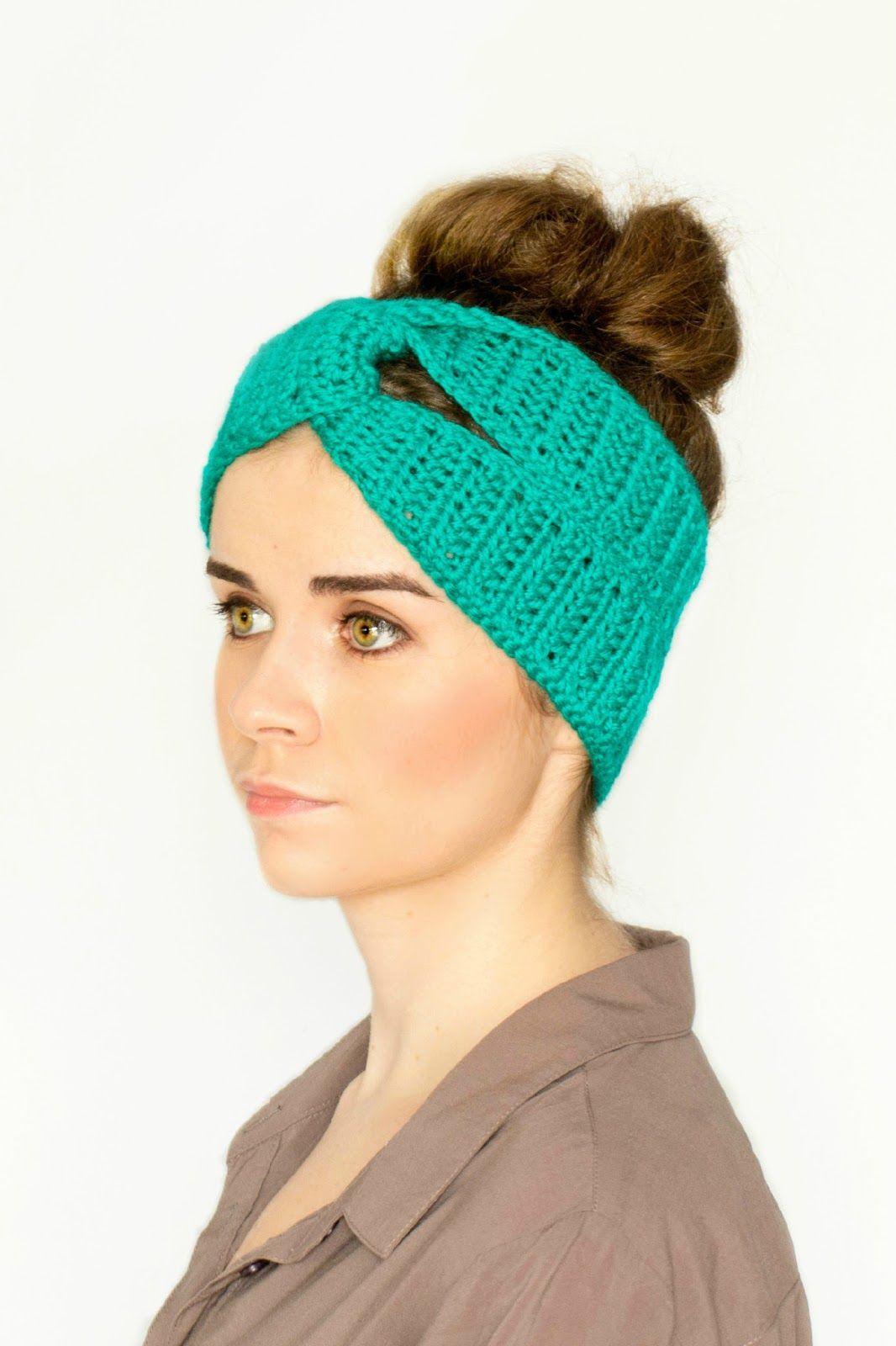 Twisted Turban Headband Crochet Pattern   Girly stuff crochet ...