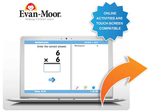 Use this link to access online flashcard activities from Evan-Moor ...