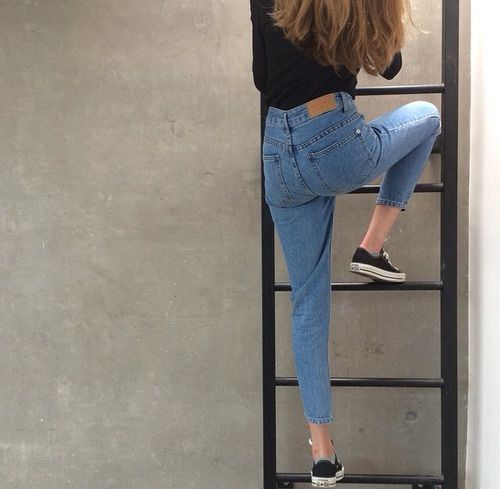 hoodie jeans and nike shoes tumblr women gapeing 950153