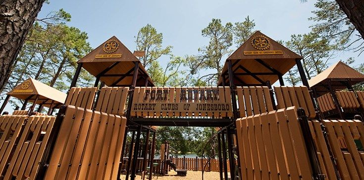 Fort Rotary - Fort-Themed Playground