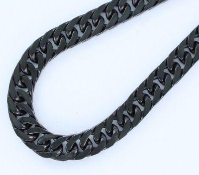 Pulsera de acero barbada de 12 mm