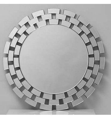 espejo decorativo redondo modelo es e