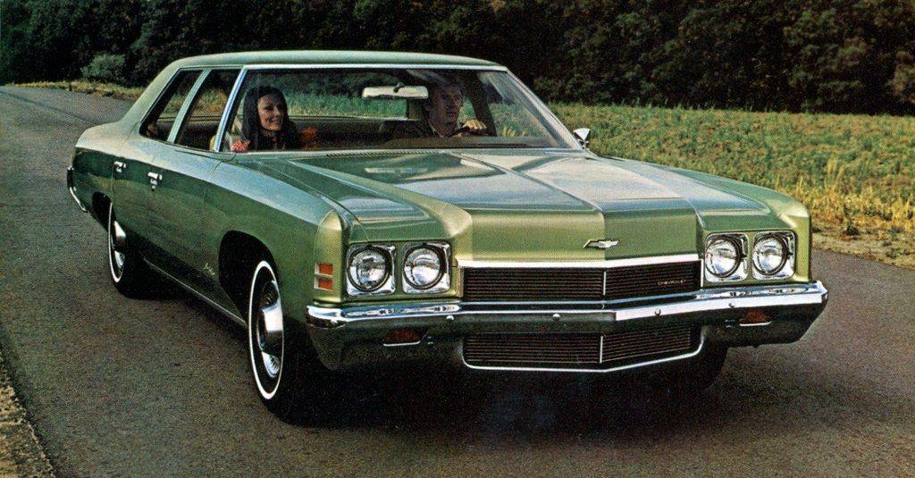 1972 Chevrolet Bel Air 4 Door Sedan Chevrolet Bel Air Classic
