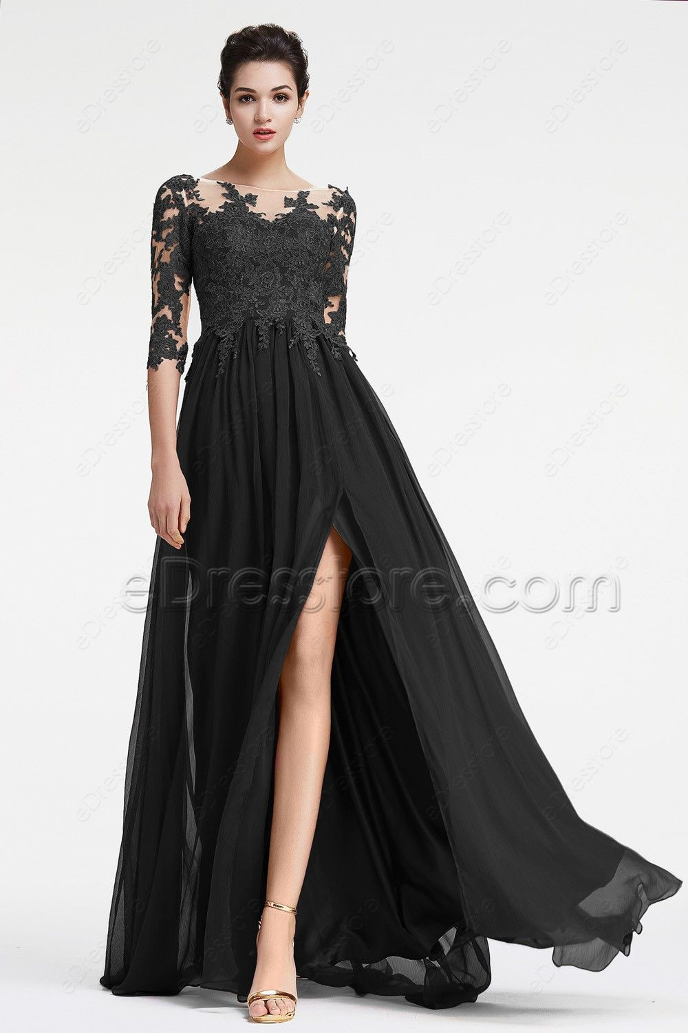 long formal dresses made of