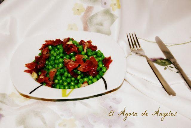 El Ágora de Ángeles: GUISANTES CON JAMÓN EN COFRE DE VAPOR | Dieta ...