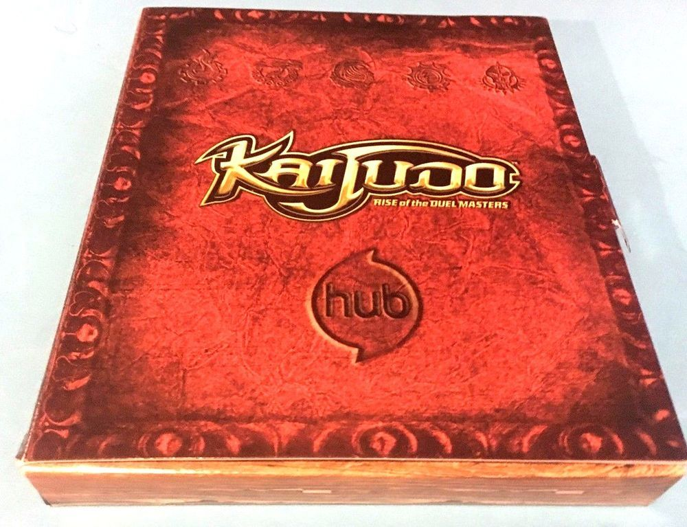 Kaijudo rise of the duel masters media kit cards show