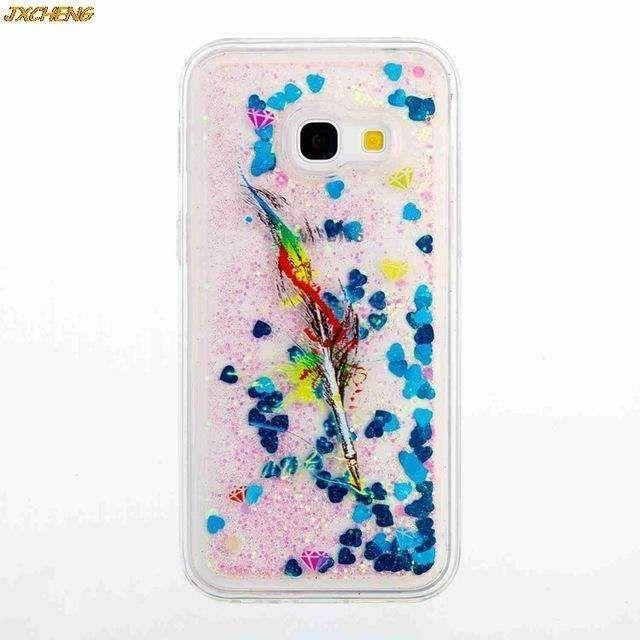 hot sale online 3abe2 f8c8d Sparkle Glitter Star Flowing Liquid Phone Case For Samsung Galaxy A3 ...