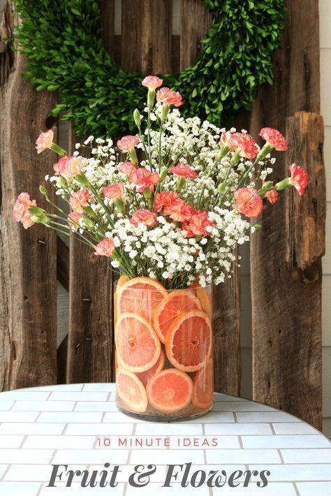 Quick tips for floral arrangements #diy #flowerarrangement #summer #flowers #bouquet #weddingdecor #homedecor