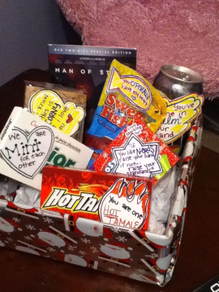 Cute christmas gift for boyfriend diy movienight