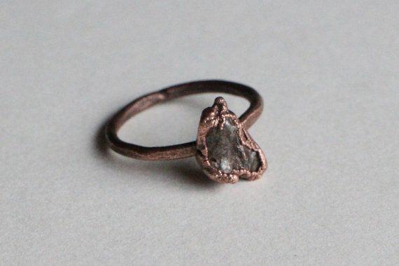 Meteorite Ring Nantan Meteorite Ring by seventhstarjewelry