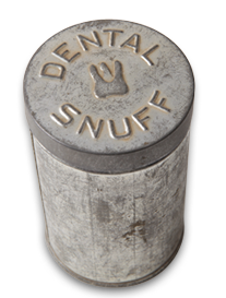 how to use dental snuff