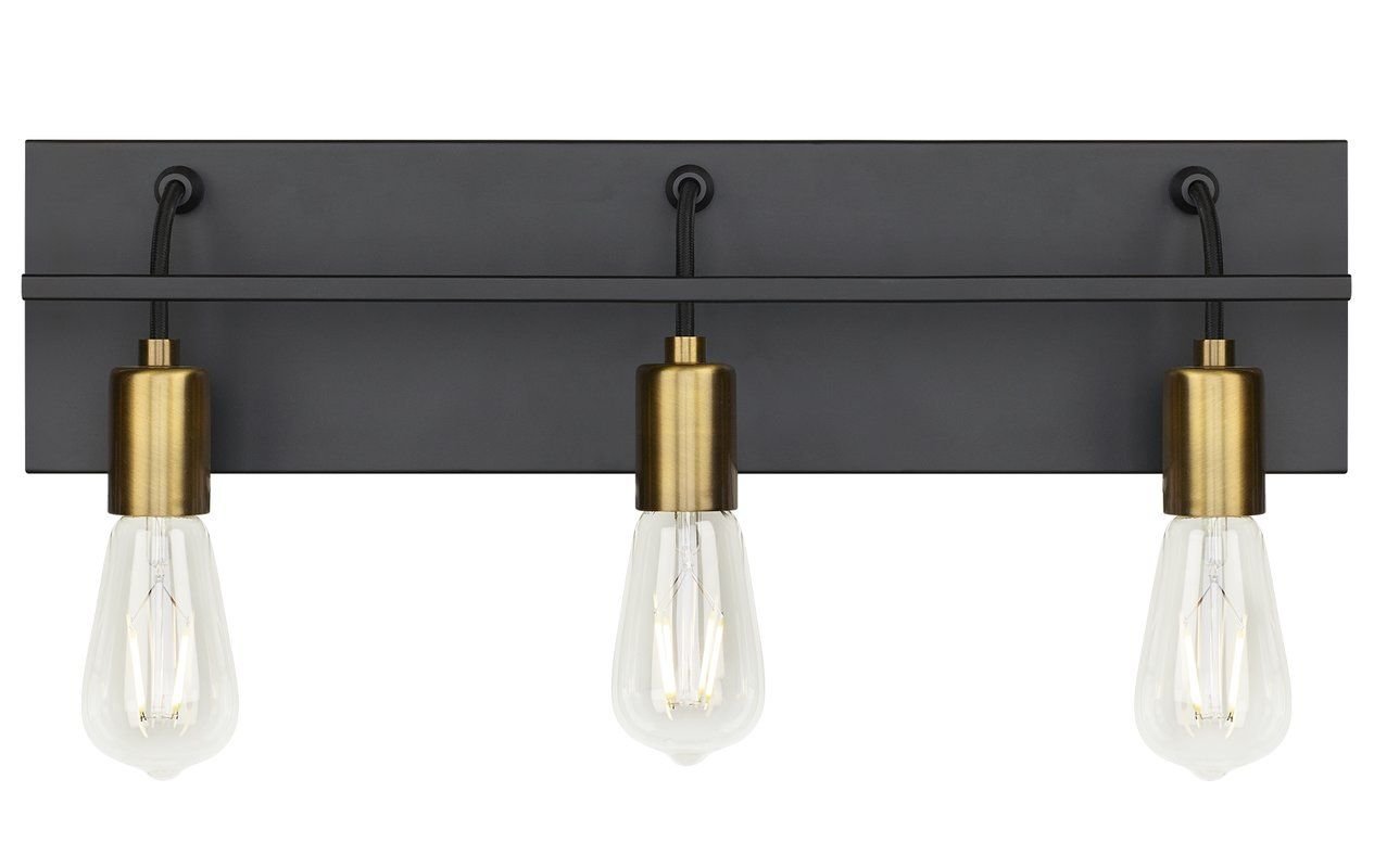Tae 3 Light Bath Bar Bathroom Light Fixtures Vanity Light