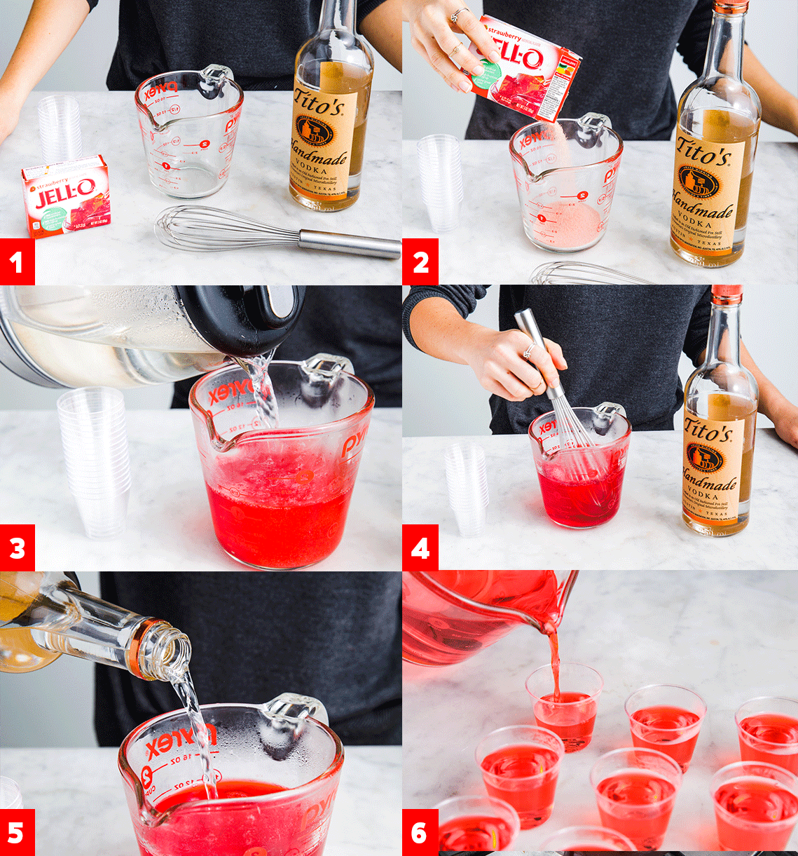 To Make Jello Shots Let's be real...jello shots always bring the party. Get the directions at .Let's be real...jello shots always bring the party. Get the directions at .