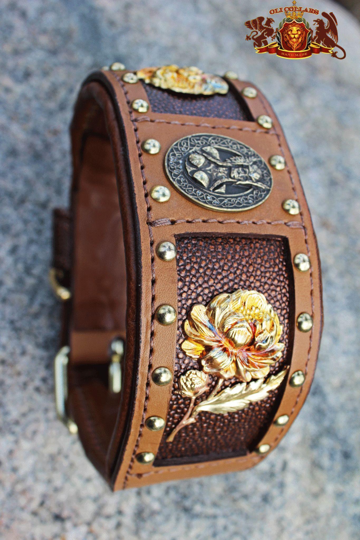 Valkyrie Large dog collars, Custom dog collars, Handmade