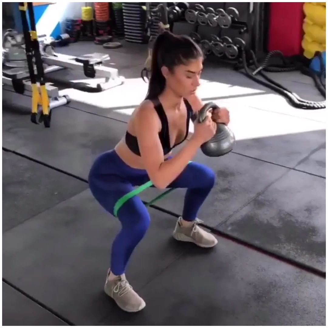 At Home Workouts With Resistance Bands Exercises For -8139