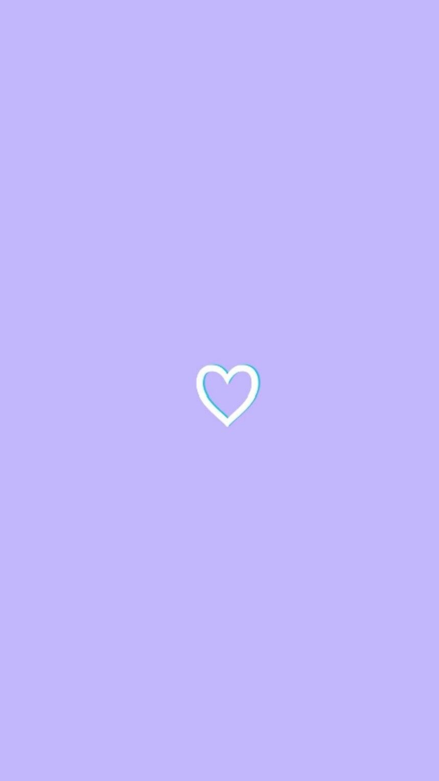 Lavender Heart Wallpaper Tumblr Lockscreen Purple Wallpaper Iphone Purple Wallpaper