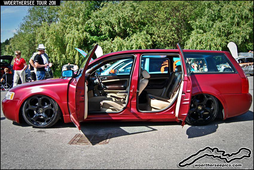 custom passat | Custom VW Passat Estate tuning with Lamborghini wheels and suicide ...