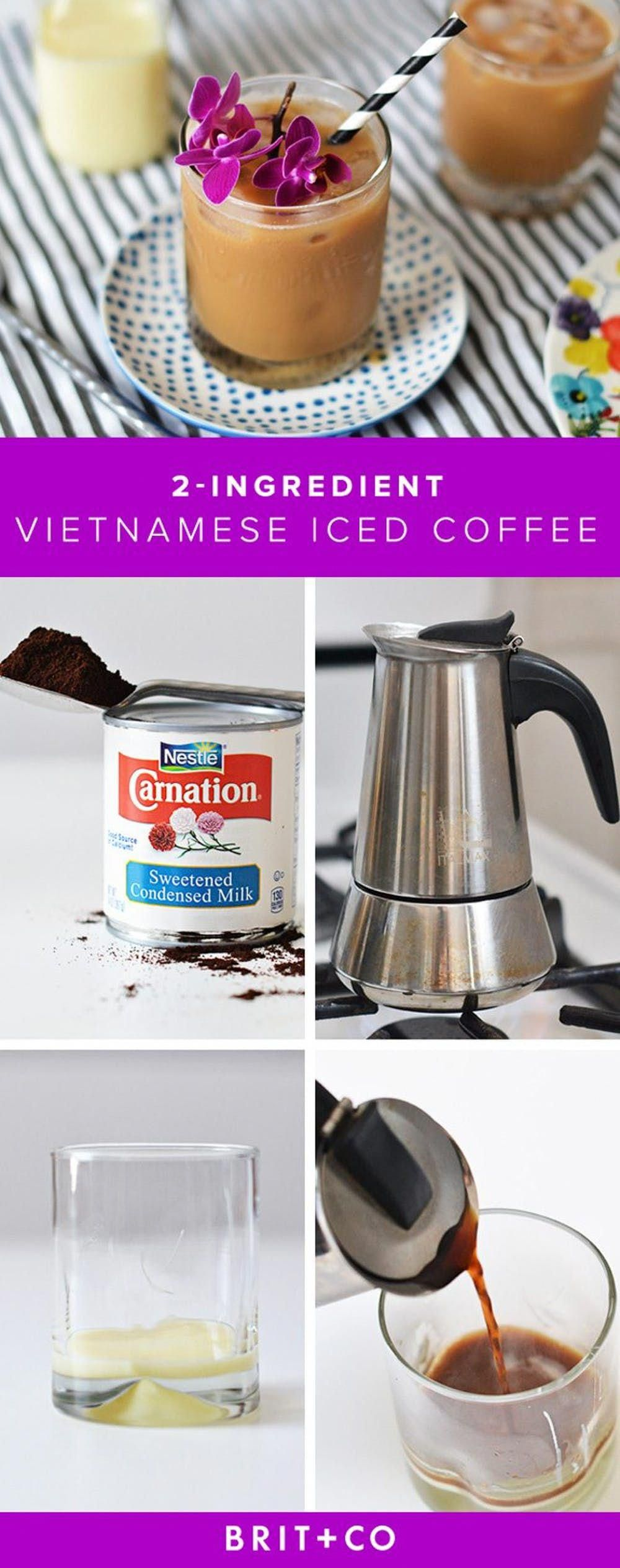 how to make vietnamese iced coffee at starbucks