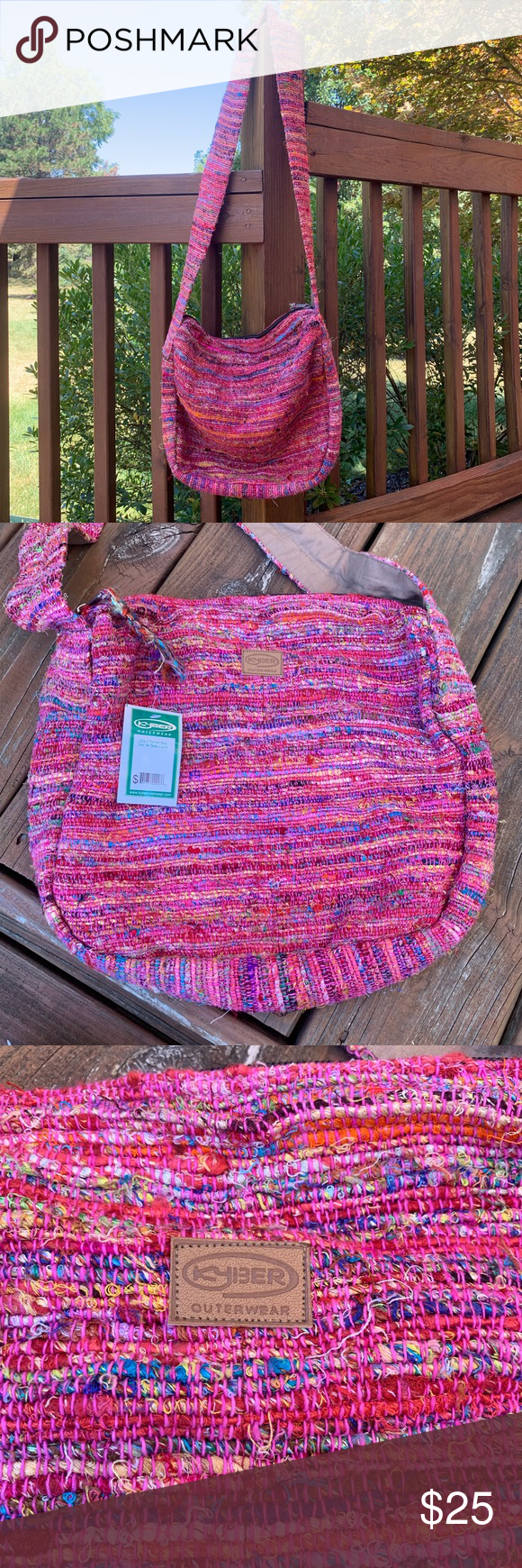 Nwt Kyber Outerwear Boho Knit Crossbody Brand New With Tags Handmade In Himalayas Style Relaxed Boho Crossbody Crossbody Crossbody Bag Relaxed Boho [ 1740 x 580 Pixel ]