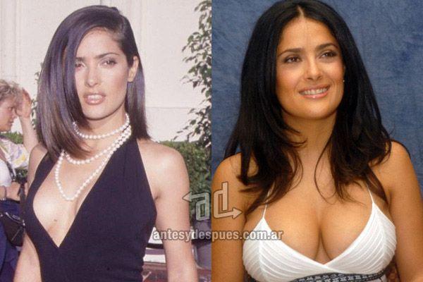 Salma heyak breast