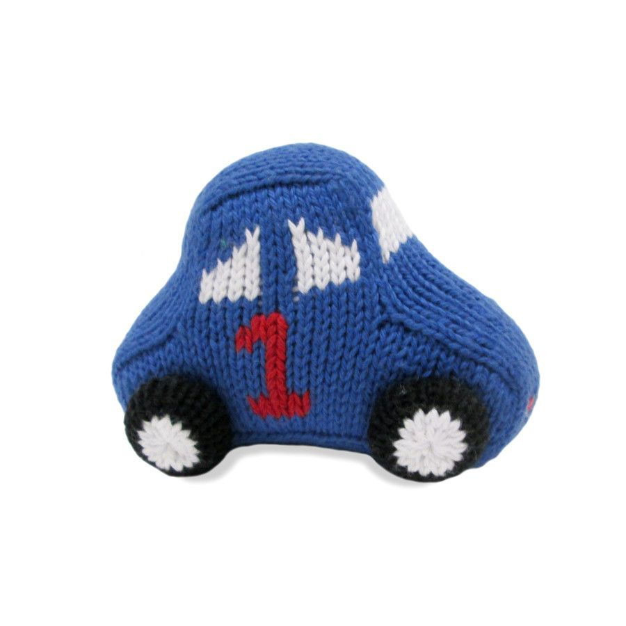 Toys car for baby  Organic Race Car Rattle Baby Toy  Baby toys and Products