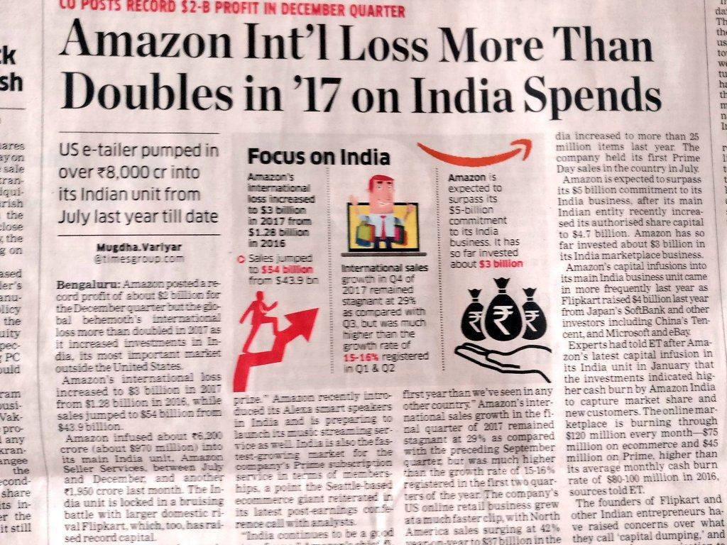 Two of biggest start up in India having billions of sales
