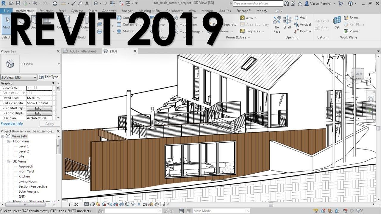Revit 2019 Enhanced Fill Patterns Architecture Concept Drawings