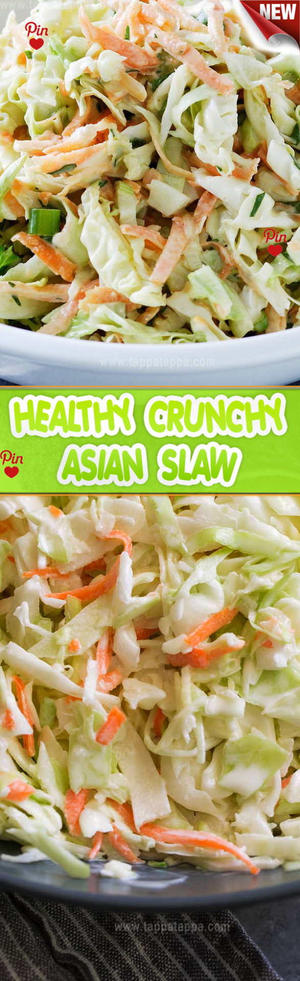 HEALTHY CRUNCHY ASIAN SLAW The defining ingredients for an Asian slaw are cabbage rice vinegar and toasted sesame oil. This version also has some peanut butter in the dressing and some twice toasted peanuts. #shrimpseasoning