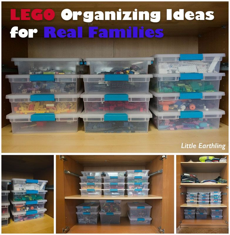 Perfectly Organized What Organizing Made Fun: LEGO Organizing Ideas For Real Families
