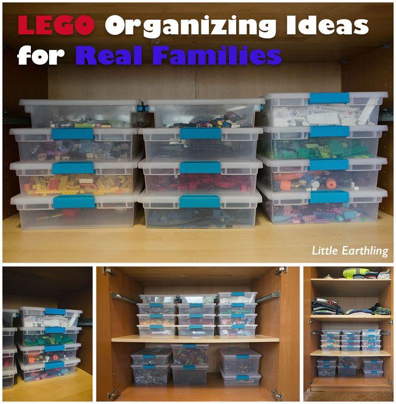 how to organize legos pinterest
