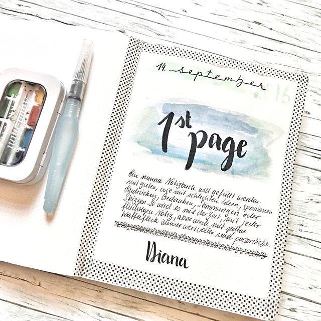 Das Ist Meine Erste Seite Des Neuen Bulletjournal Von Nuuna By Brandbook Und Das Hat Soooo Vi Mit Dir An Meiner Seite Doodle Inspiration Kalender Gestalten