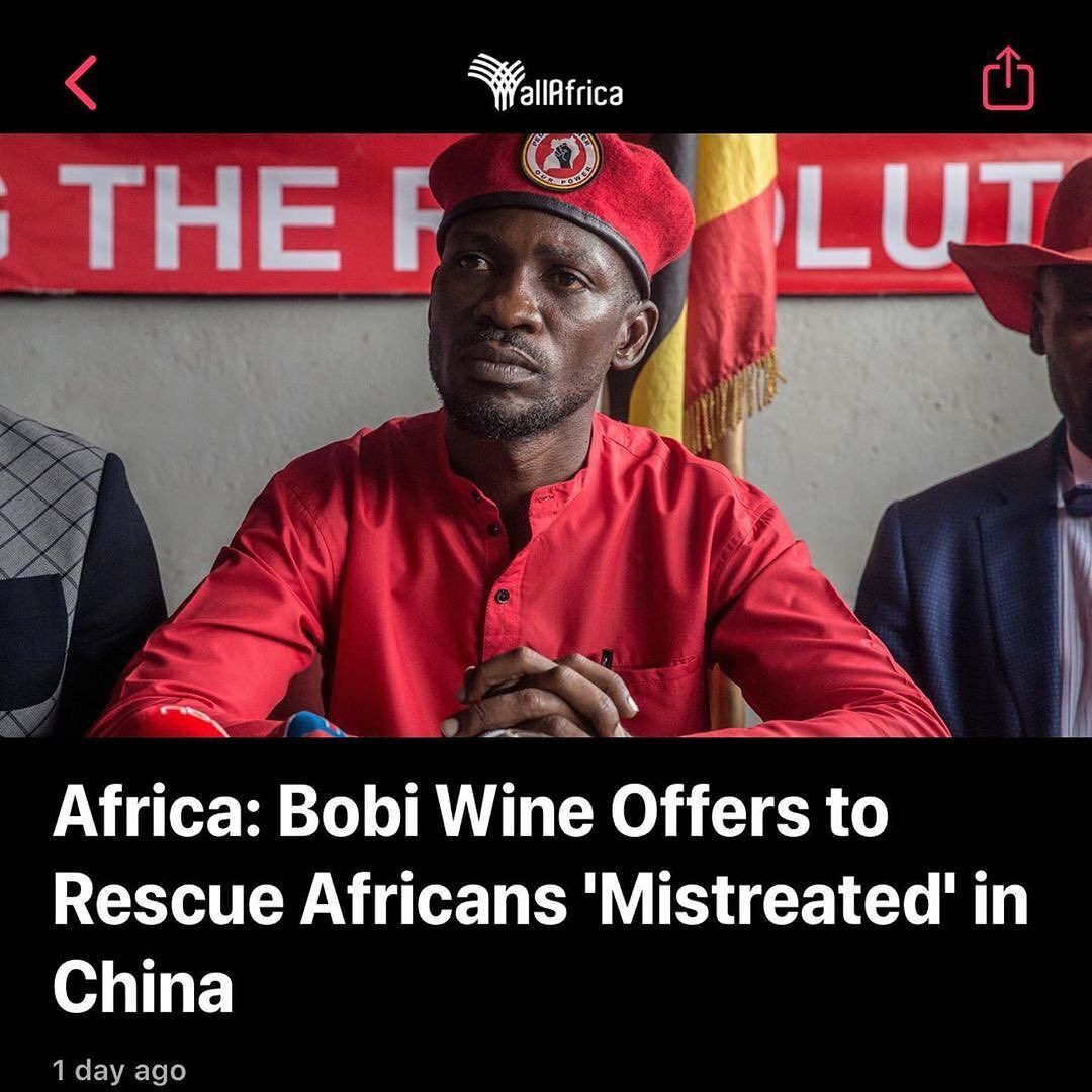 The Diaspora Library On Instagram Ugandan Musician Turned Politician Robert Kyagulanyi Popularly Known As Bobi Wine Bobiwine Has O In 2020 Bobi Musician Diaspora