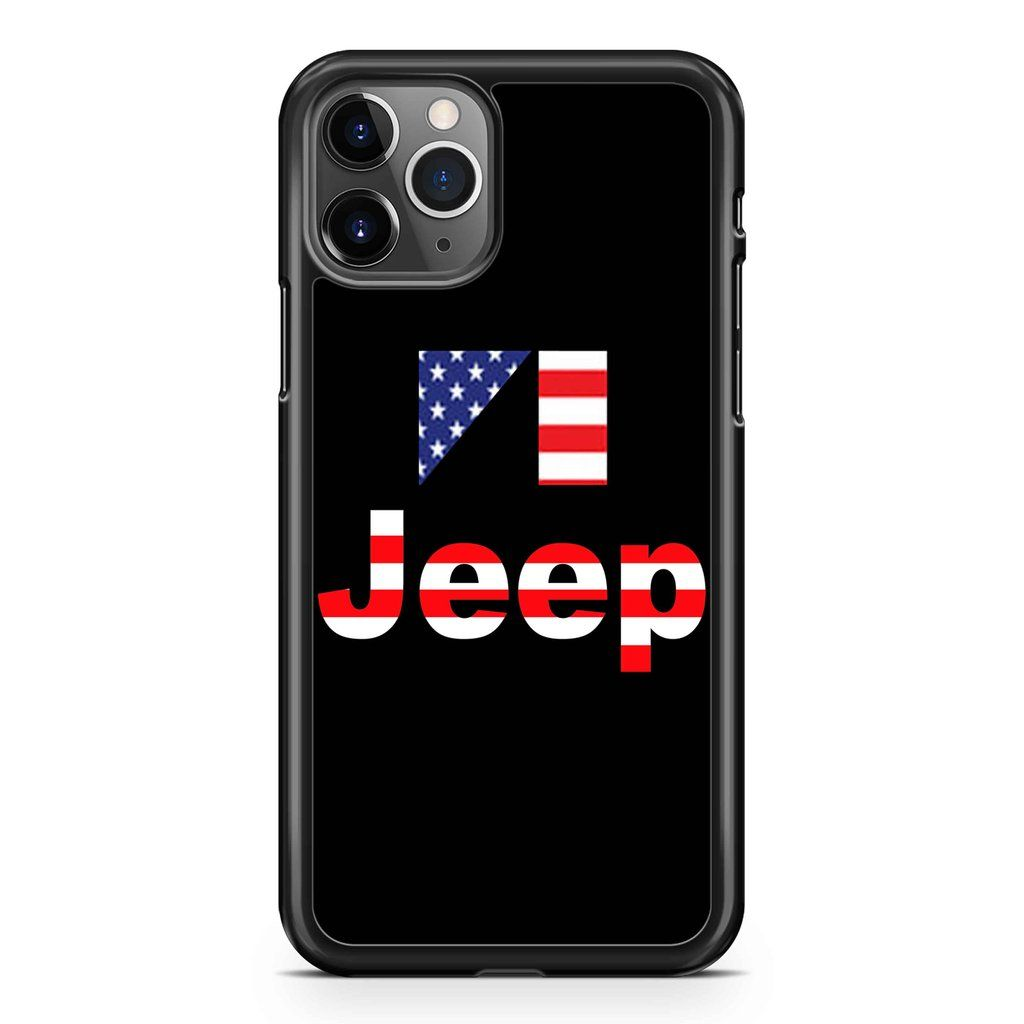 Usa Flag Jeep Iphone 11 11 Pro 11 Pro Max Case In 2020
