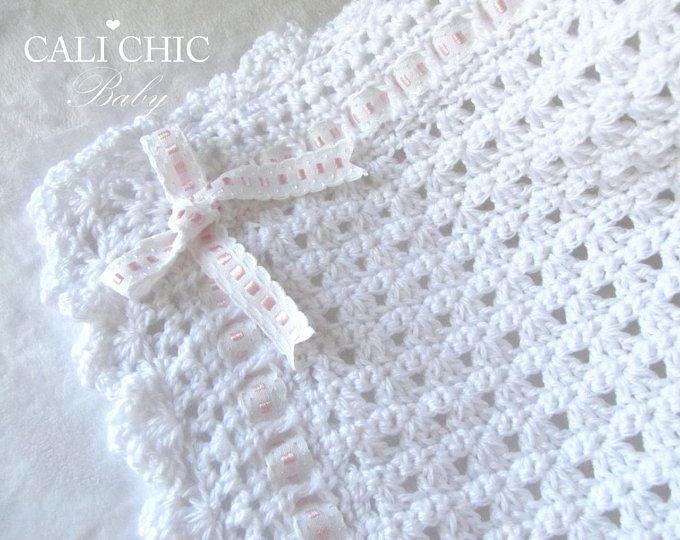 Baby Blanket PATTERN 41, Crochet Baby Pattern 41, Angel Blanket ...