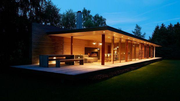 Une gagnante + une maison du0027été épurée Small modern houses - jeux de construction de maison en d